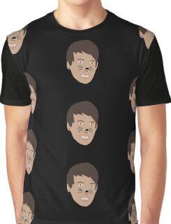 Dan Howell Cat Whiskers Graphic T-Shirt