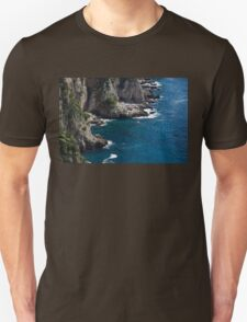 The Little Boat and the Cliff - Azure Waters Magic of Capri T-Shirt