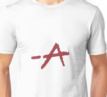 "Pretty Little Liars TV Series - ""A"" Design  Unisex T-Shirt"