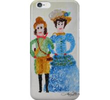Doll's of Naantali Finland 1888 iPhone Case/Skin