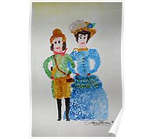 Doll's of Naantali Finland 1888 Poster