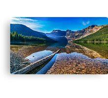 Cameron Lake - Waterton National Park Canvas Print