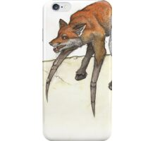 Spox! The spider and the fox iPhone Case/Skin