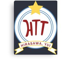K-ON! - Hōkago Tea Time Name Badge (Yui) Canvas Print