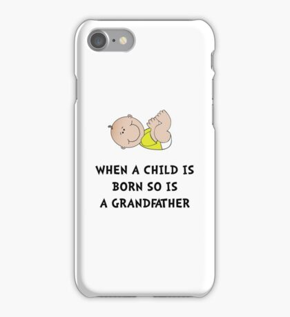 Grandfather Born iPhone Case/Skin