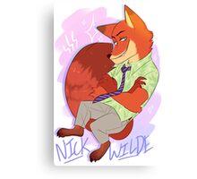 Nick Wilde [ Print version ]  Canvas Print