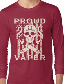 Proud Vaper | United States Long Sleeve T-Shirt