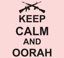 Keep Calm and Oorah - Marines One Piece - Long Sleeve
