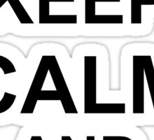 Keep Calm and Oorah - Marines Sticker