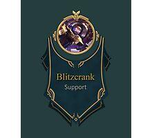 League of Legends - Blitzcrank Banner Photographic Print
