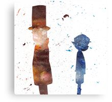 Room For Thought- a Professor Layton Tribute Canvas Print