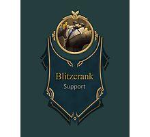 League of Legends - Blitzcrank Banner (Definitely Not) Photographic Print
