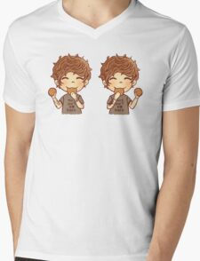 Lou cookies Mens V-Neck T-Shirt