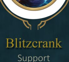 League of Legends - Blitzcrank Banner (Riot) Sticker