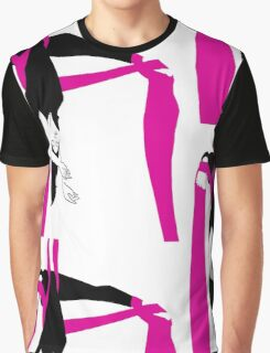 Ribbon Graphic T-Shirt