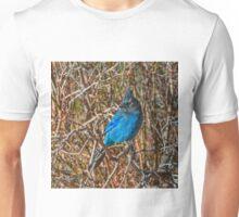 Mountain Blue Jay Unisex T-Shirt