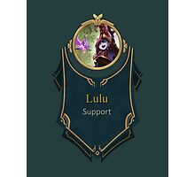 League of Legends - Lulu Banner Photographic Print