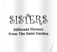 Sisters Garden Poster