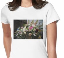 Uplifting Bouquet of Flowers  Womens Fitted T-Shirt