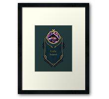 League of Legends - Lulu Banner (Bittersweet) Framed Print
