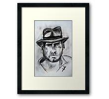 Indiana Jones, Harrison Ford Framed Print