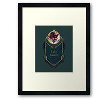 League of Legends - Lulu Banner (Dragon Trainer) Framed Print