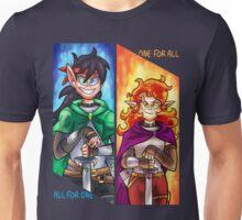 Big Knight, Tiny Knight Unisex T-Shirt