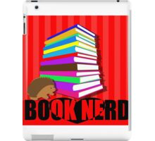BOOK NERD iPad Case/Skin