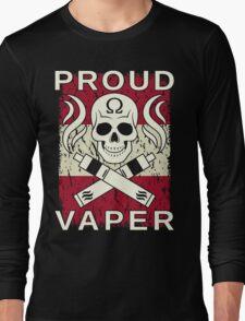 Proud Vaper   Austria Long Sleeve T-Shirt