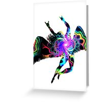 ICARUS THROWING THE HORNS - The 1960s white Greeting Card
