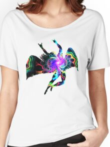 ICARUS THROWING THE HORNS - The 1960s white Women's Relaxed Fit T-Shirt