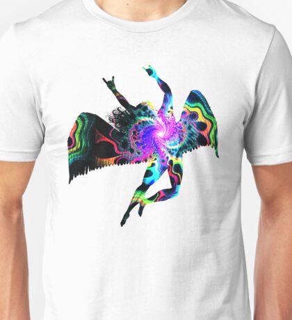 ICARUS THROWING THE HORNS - The 1960s white Unisex T-Shirt