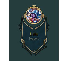 League of Legends - Lulu Banner (Pool Party) Photographic Print