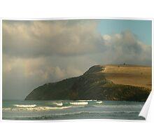 Joe Mortelliti Gallery - Sunset after rain at Cape Bridgewater near Portland, on Victoria's west coast, Australia. Poster