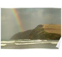 Joe Mortelliti Gallery - Stormy weather at Cape Bridgewater near Portland, on Victoria's west coast, Australia. Poster