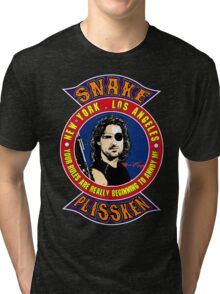 Snake Plissken Colour Tri-blend T-Shirt