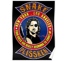 Snake Plissken Colour Poster