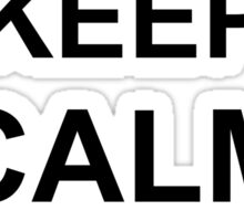 Keep Calm I Packed Your Chute - Riggers Sticker