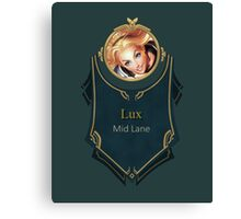 League of Legends - Lux Banner Canvas Print