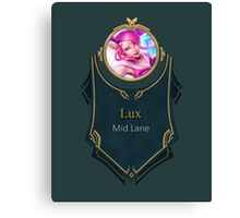 League of Legends - Lux Banner (Star Guardian) Canvas Print