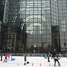 Skating Rink, World Financial Center, Lower Manhattan, New York City by lenspiro