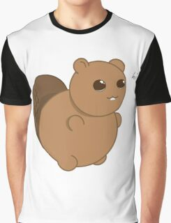Brownie The Friendly Beaver Graphic T-Shirt
