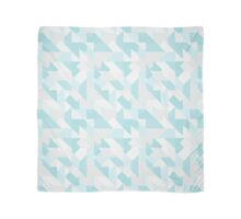 GEOMETRIC PATTERN - Teal Scarf