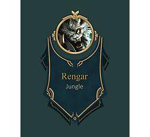 League of Legends - Rengar Banner Photographic Print