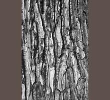 BW Tree Bark Unisex T-Shirt
