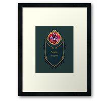 League of Legends - Sona Banner (Concussive) Framed Print