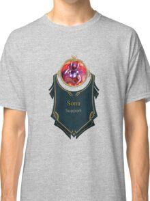 League of Legends - Sona Banner (Concussive) Classic T-Shirt