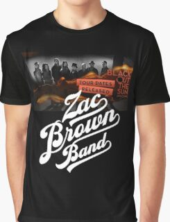 Zac Brown Band Black Out The Sun 2016 Tour Graphic T-Shirt