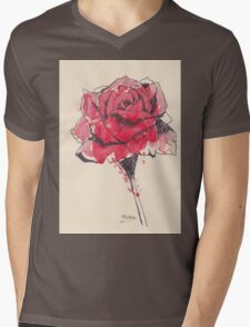 Rose of friendship Mens V-Neck T-Shirt