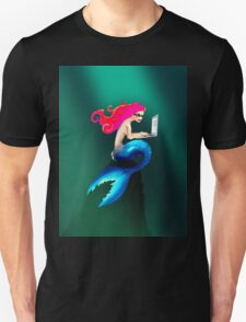 Graphic Tendentious Mermaid Unisex T-Shirt